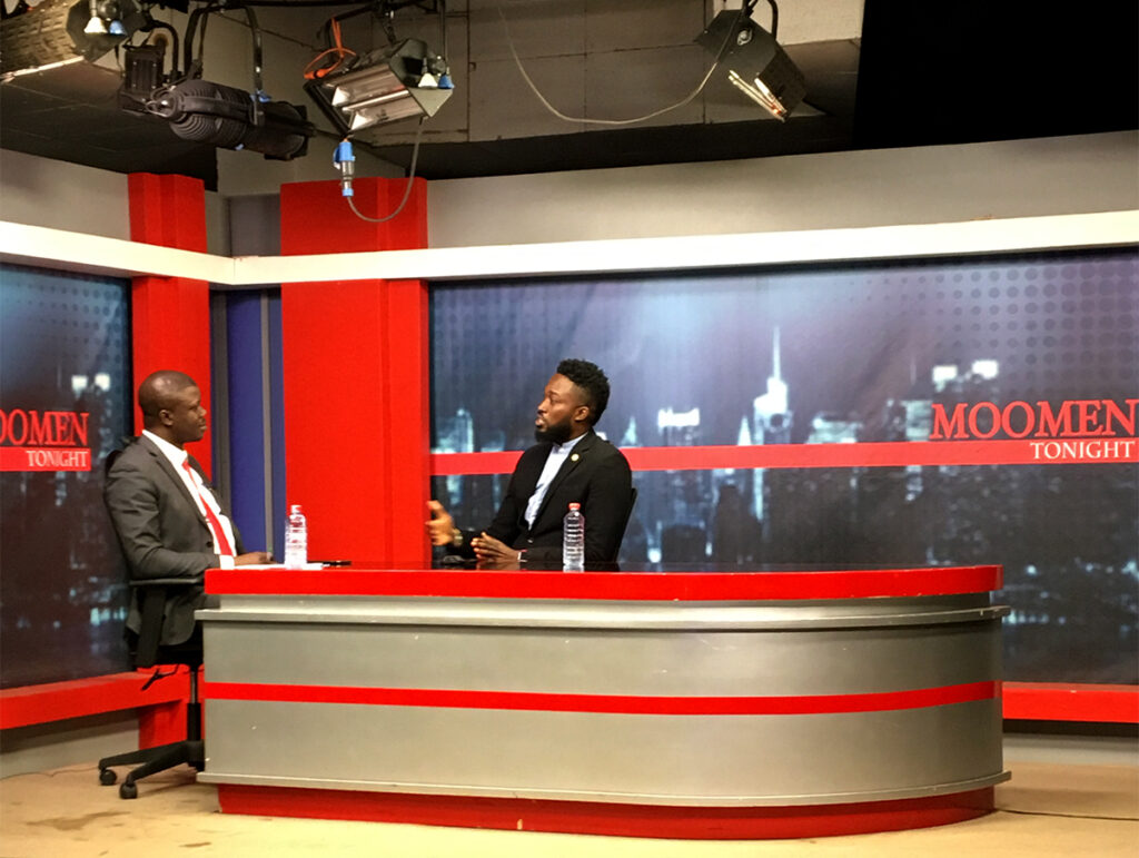 GBC 24 Interview with Moomen Tonight on Ghana Broadcasting Corporation
