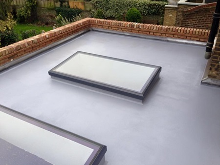 Liquid Membrame flat roofing in Hertfordshire