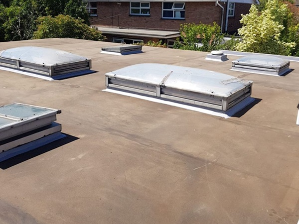 Flat roofing in Ware and Hertford