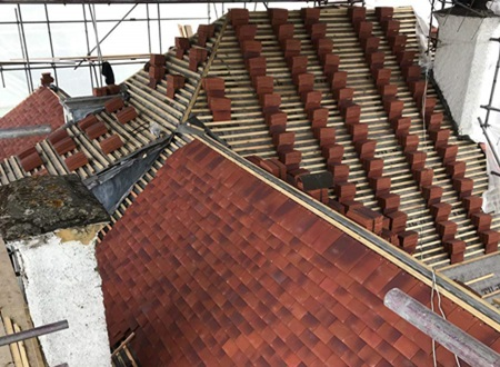 Slate Roofing Specialists for new roofs in Hertfordshire