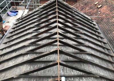 Full Rear Roof Elevation
