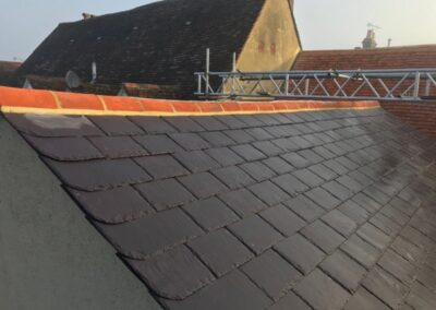 New Roof in Eaton High Street