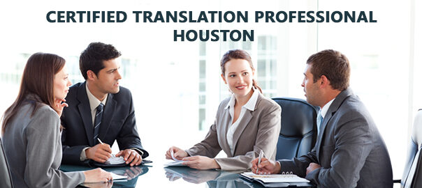 Certified Translation Professional