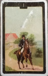 Scarabeo Lenormand Rider Card