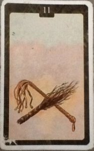 Scarabeo Lenormand Whip Card