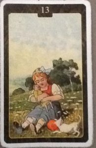 Scarabeo Lenormand Child Card