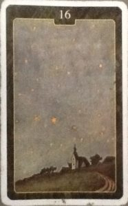 Scarabeo Lenormand Stars Card