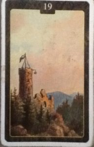 Scarabeo Lenormand Tower Card