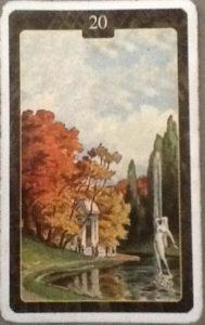 Scarabeo Lenormand Garden Card