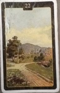 Scarabeo Lenormand Crossroad Card