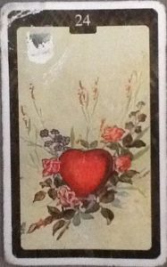 Scarabeo Lenormand Heart Card