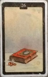 Scarabeo Lenormand Book Card