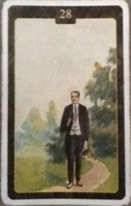 Scarabeo Lenormand Man Card