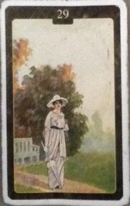 Scarabeo Lenormand Woman Card