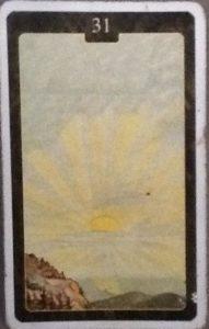 Scarabeo Lenormand Sun Card
