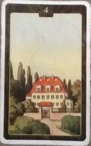 Scarabeo Lenormand House Card