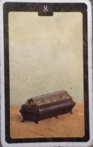 Scarabeo Lenormand Coffin Card