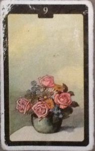 Scarabeo Lenormand Bouquet Card