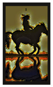 Lenormand Rider Card