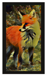 Lenormand Fox Card