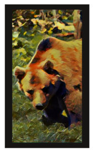 Lenormand Bear Card