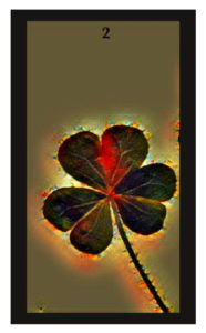 Lenormand Clover Card