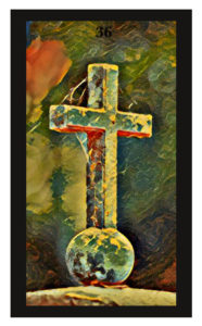 Lenormand Cross Card