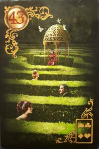 Gilded Lenormand Labyrinth