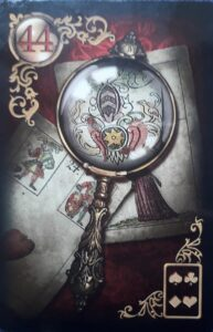 Gilded Reverie Magnifying Glass