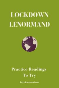 Lockdown Lenormand Exercises header