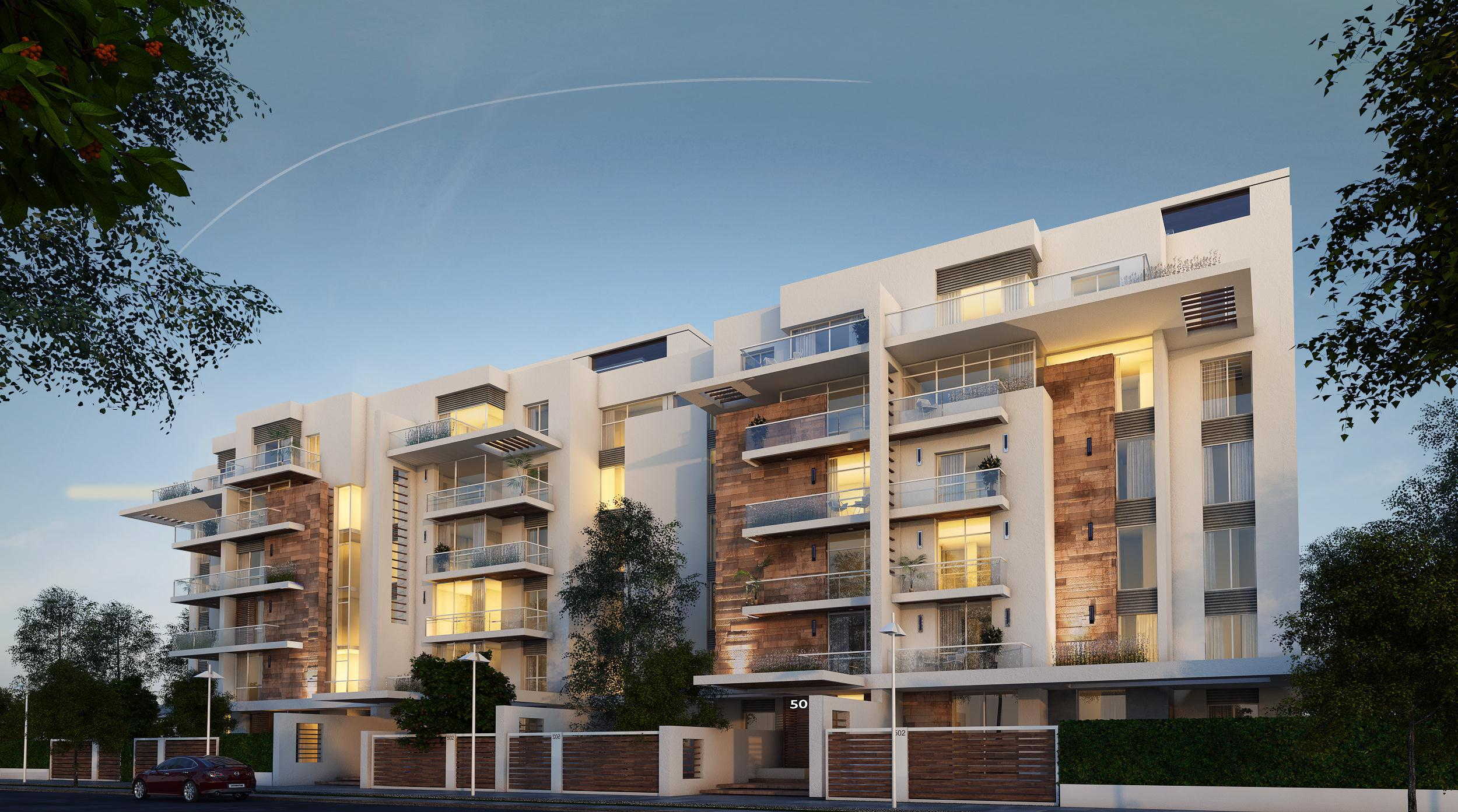 Apartment In Compound Mountain View I City