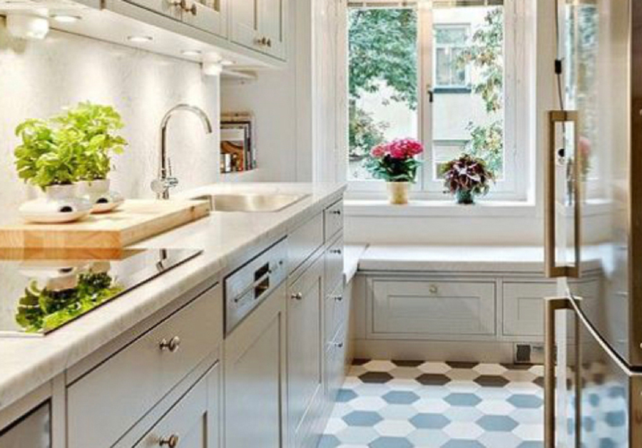 Galley Kitchen Ideas – Create a Small but Perfectly formed Kitchen