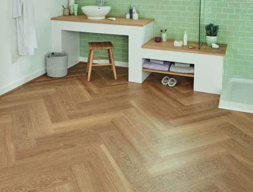 SM-VGW121T Warm Brushed Oak Flooring