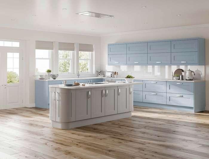 Solent Denim kitchen