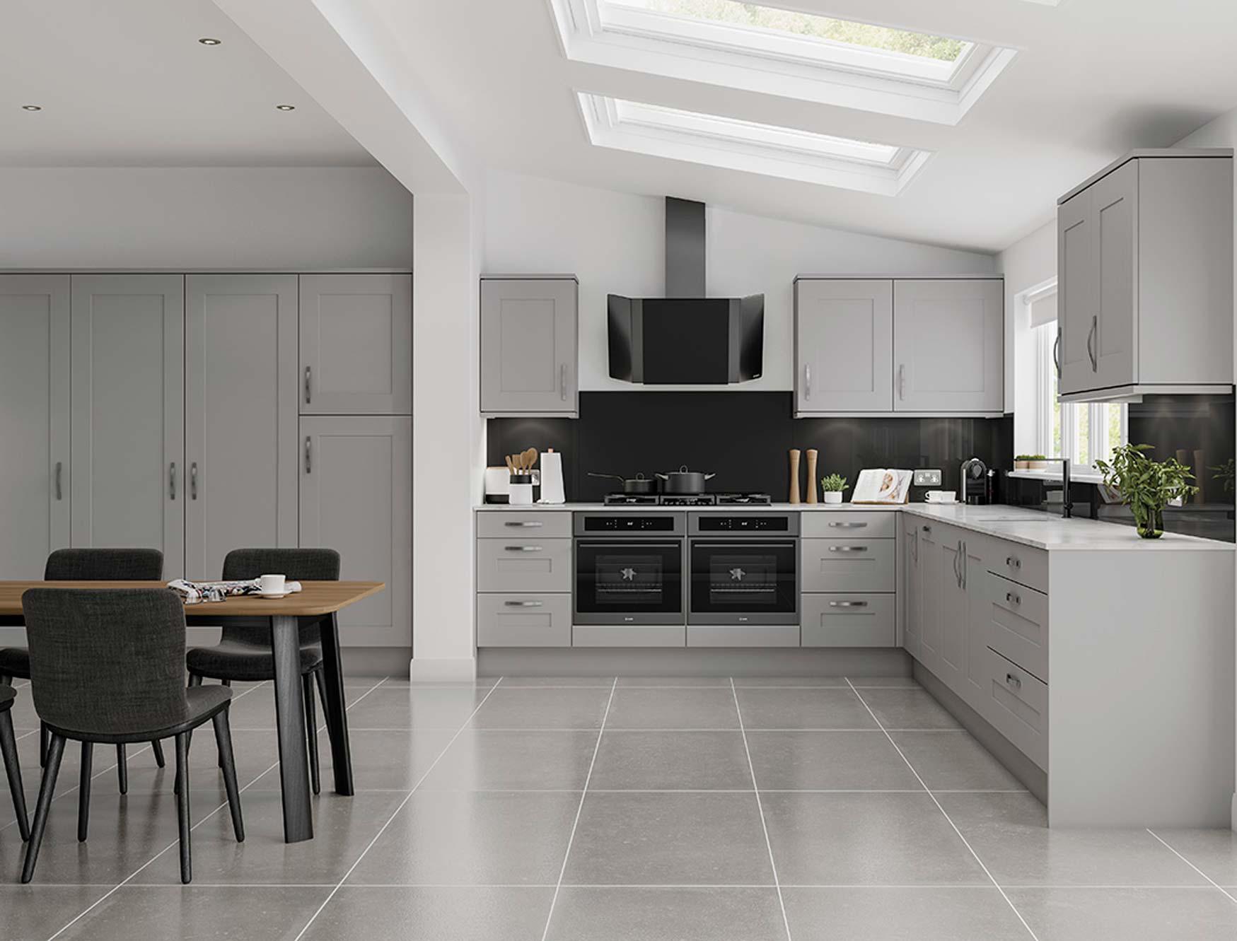 Solent grey kitchen