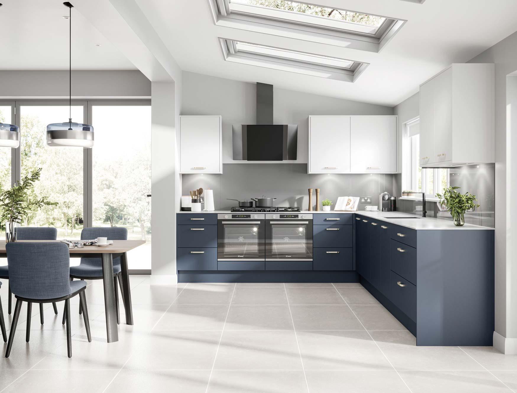 Vero Indigo kitchen