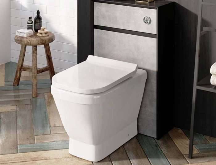 Aintree Back To Wall Toilet & Soft Close Slim Seat