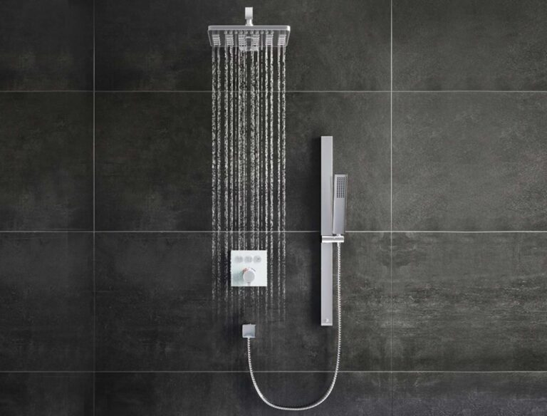 Baylin Triple Outlet Concealed Valve Shower
