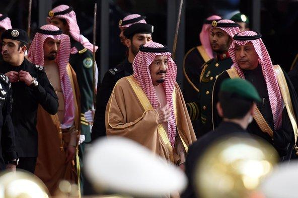 King Salman bin Abdulaziz of Saudi Arabia in Riyadh. Credit Fayez Nureldine/Agence France-Presse — Getty Images