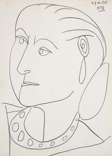 Pablo Picasso, Portrait of Helena Rubinstein, 1955. Jewish Museum