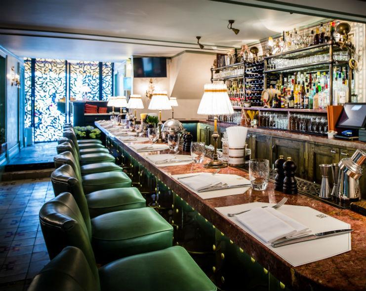 Daphne's restaurant, London. Interiors by Martin Brudnizki