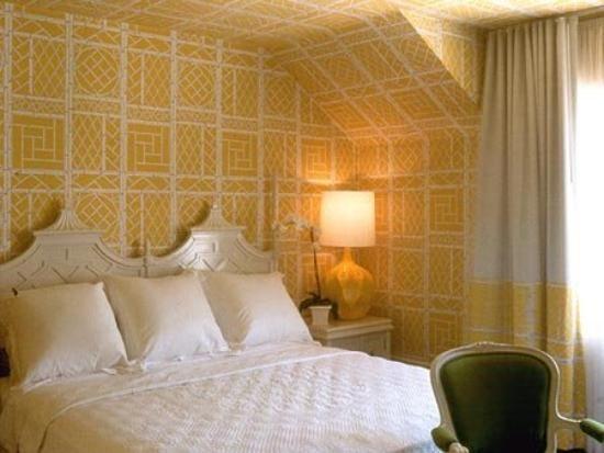 habitación del hotel Maison 140 en Beverly Hills diseñada por Kelly Wearstler