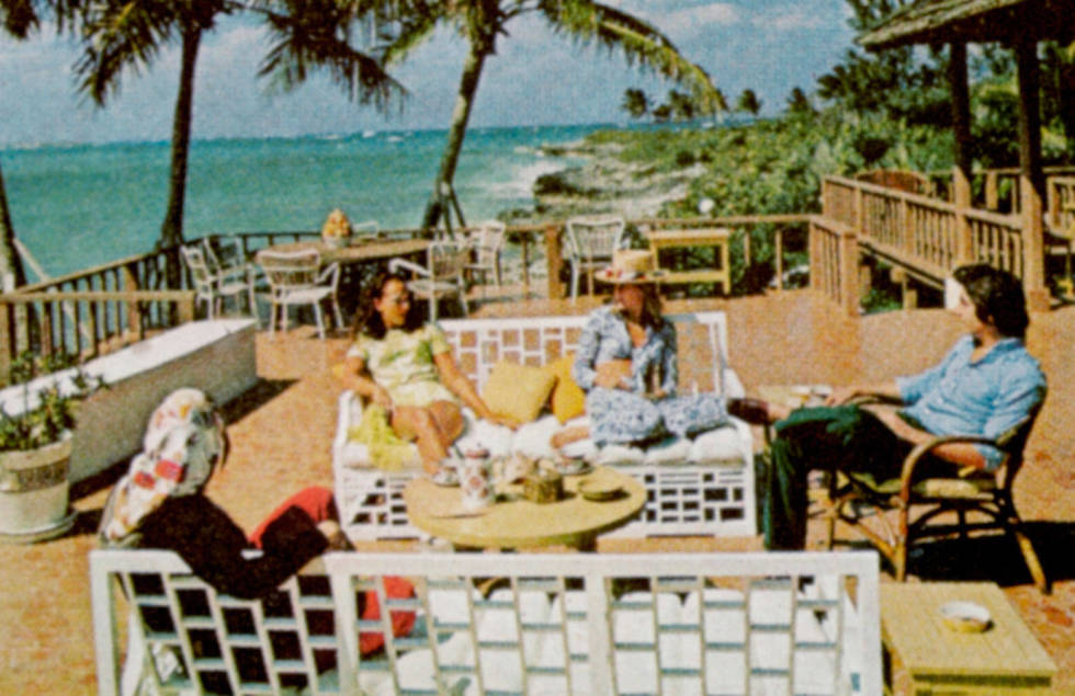 Lyford Cay Club, Slim Aarons, 1972