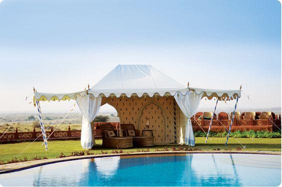 The Haveli Garden Tent- Indian Garden Company