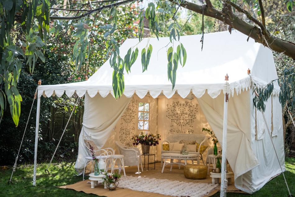 RAJ Tent Club, Lilipond tent