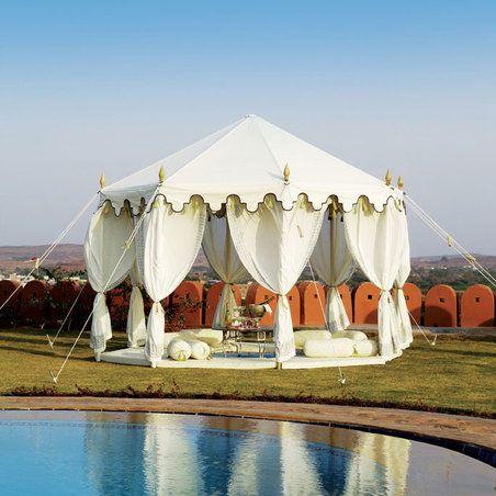The Maharani Garden Tent- Indian Garden Company