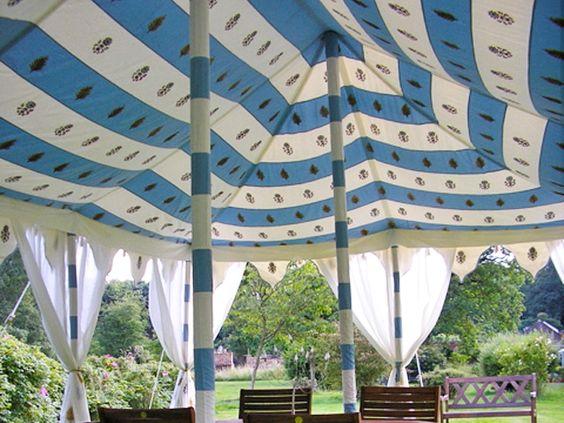 GargTent- Raj Pole Tent (detail)
