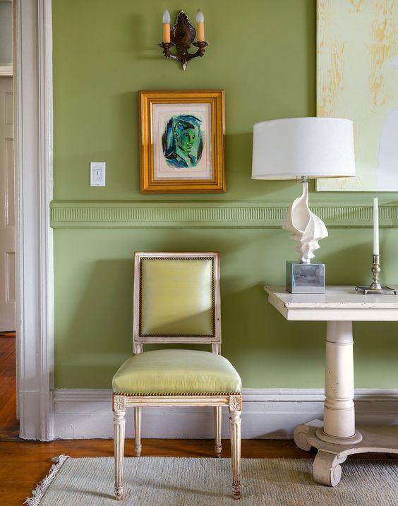 Designer Sheila Bridges' Harlem apartment.
