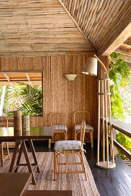 Mustique Bamboo House by Veere Grenney