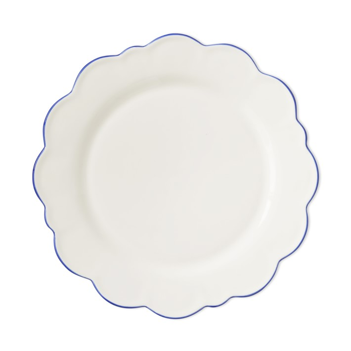 Scalloped dinner plates, Aerin for Williams Sonoma
